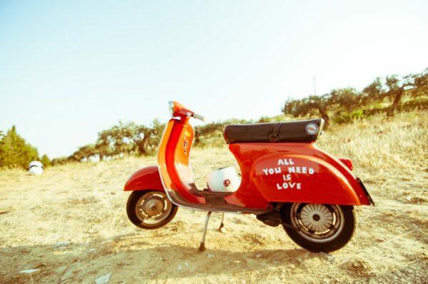 Beroemdste scooters in Italië Vespa