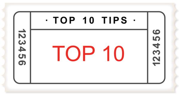 Top 10's in Italië Tips