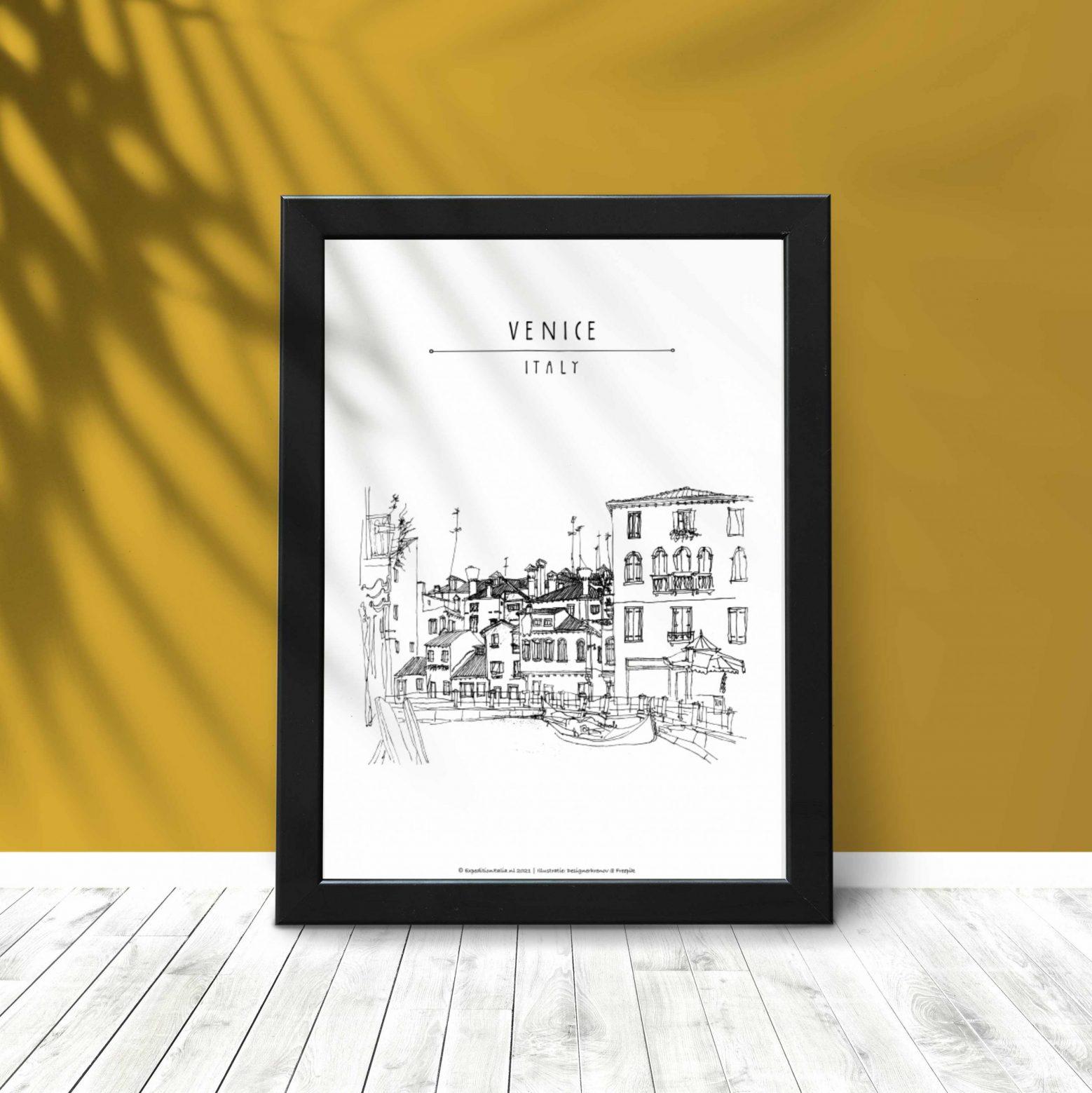 Italië printables Venetië