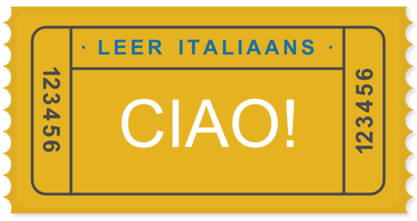 Leer Italiaans Ciao