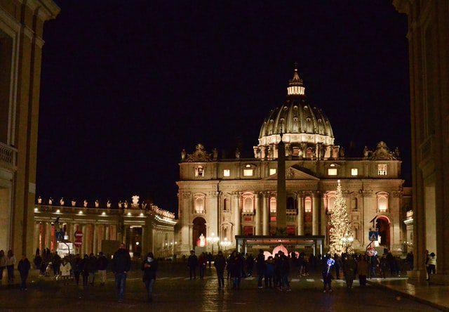 Kerst vieren in Rome