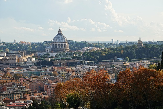 Rome in de herfst Italië