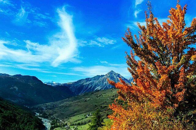 Piemonte bergen Italië