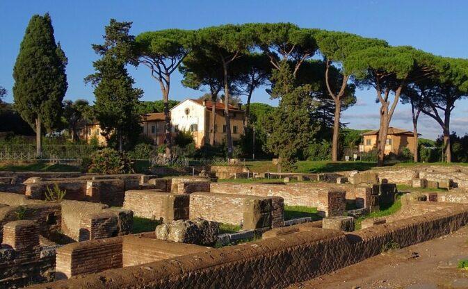 Ostia Antico Italië