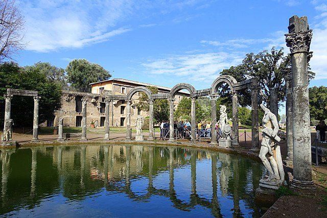 Villa Adriana Tivoli Italië